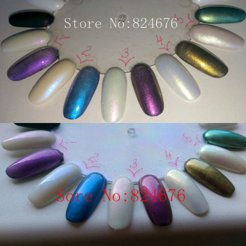 100g Pearlescent Colorful Pearl Powder Pigment for Eye shadow Nail ...