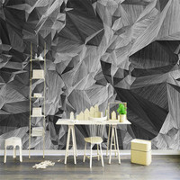 custom 3d stereoscopic modern wallpaper indoor home decor background wall mural realistic high grade vintage abstract wallpaper
