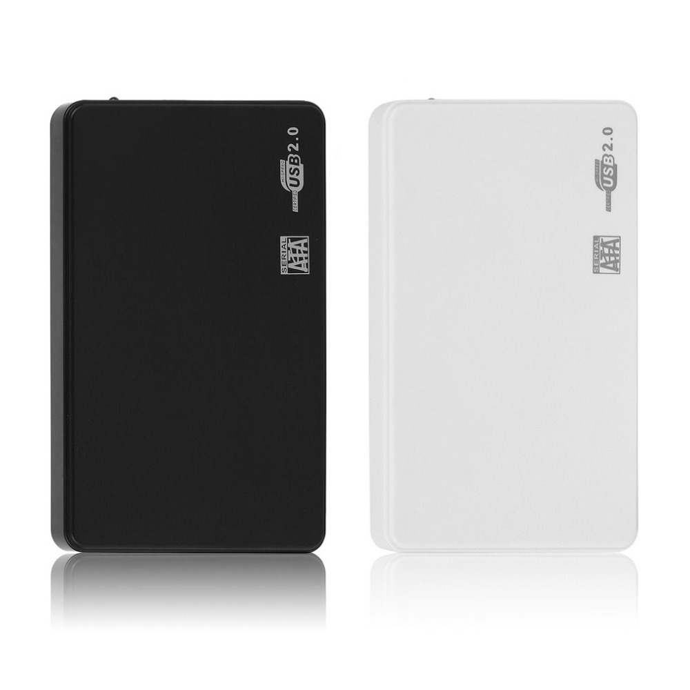 <font><b>2.5</b></font> Inch <font><b>USB</b></font> HDD Enclosure <font><b>Case</b></font> <font><b>Sata</b></font> to <font><b>USB</b></font> 2.0 Hard Drive Disk <font><b>SATA</b></font> <font><b>External</b></font> Enclosure HDD Hard Drive Box With <font><b>USB</b></font> Cable image