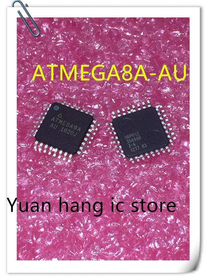 10PCS/LOT ATMEGA8A-AU ATMEGA8A AU  ATMEGA8A 8 Bit Microcontroller AVR TQFP-32