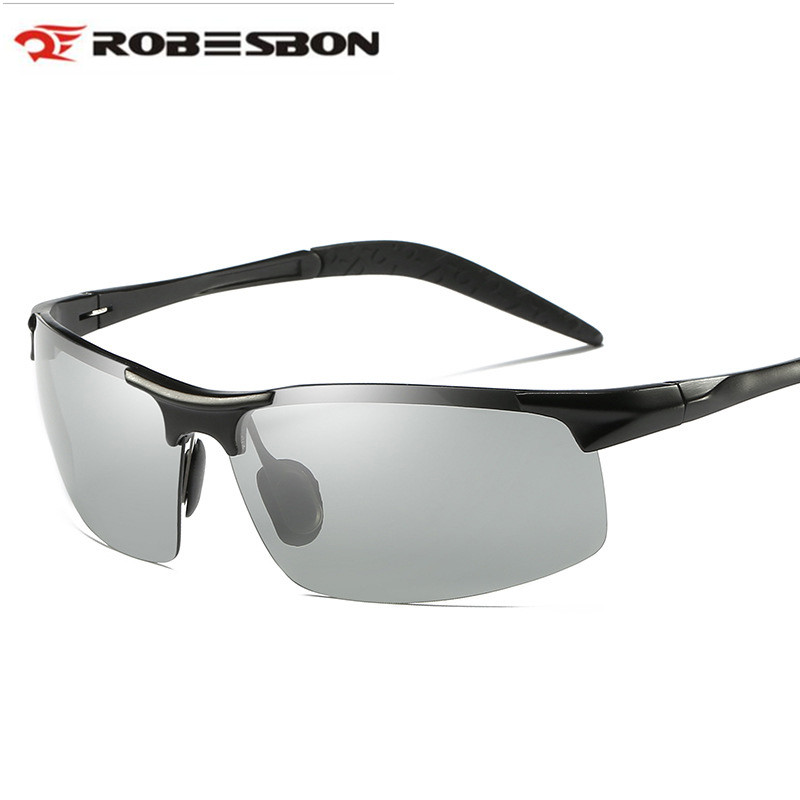 2018 Aluminium Photochromic Polarized Cycling Sun Glasses Sports Fietsbril Sunglases Men Outdoor Fishing Driving Bicycle Gozluk