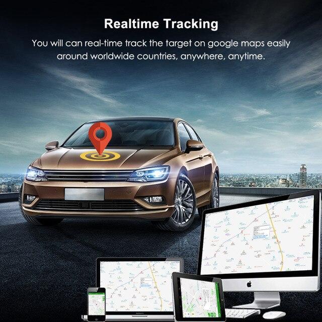 Mini GPS Car Tracker GPS Locator Free APP 4