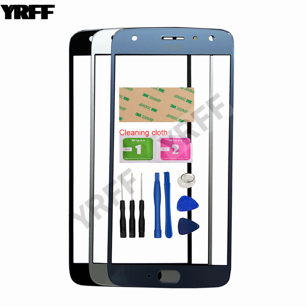 5.5'' <font><b>X4</b></font> Mobile Touch Screen Outer Glass For Motorola Moto <font><b>X4</b></font> <font><b>XT1900</b></font> Front Glass Panel Replacement image