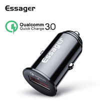 Essager Mini USB Car Charger Quick Charge 3.0 Car Phone Charger for Xiaomi mi