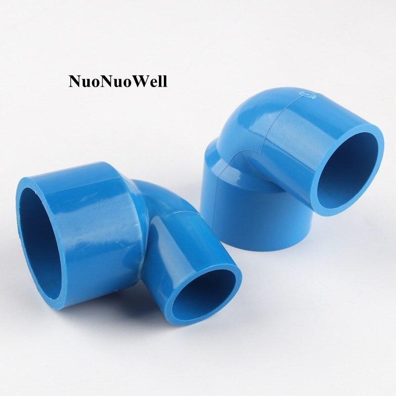 Joints coudés en PVC | De 40 50mm à 20 40mm, raccord de réservoir de poissons daquarium, raccords de tuyaux deau de jardin dirrigation agricole 1 pièce