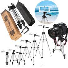 Yeni profesyonel kamera ve cep telefonu 2 in 1 çok fonksiyonlu Tripod tutucu perakende kutusu ile ayarlanabilir dört kat yüksek