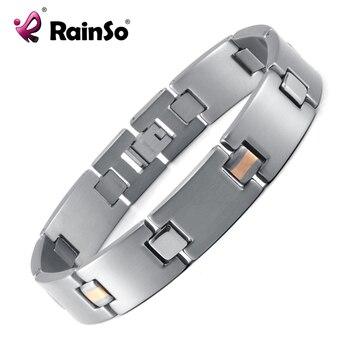 HTB1DGwqRVXXXXcKXXXXq6xXFXXXX.jpg 350x350 - Rainso Powerful High Gauss Magnetic Therapy Bracelet for Pain