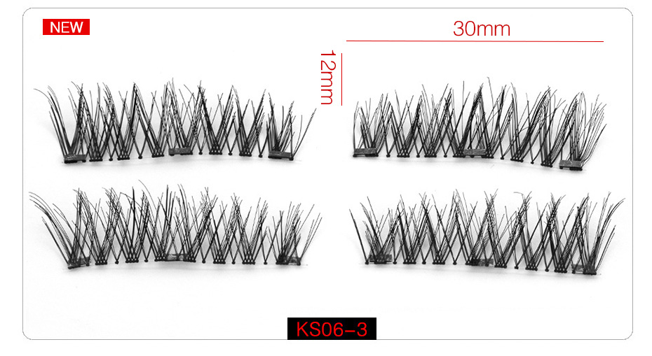 3d Magnetic False Eyelashes (11)