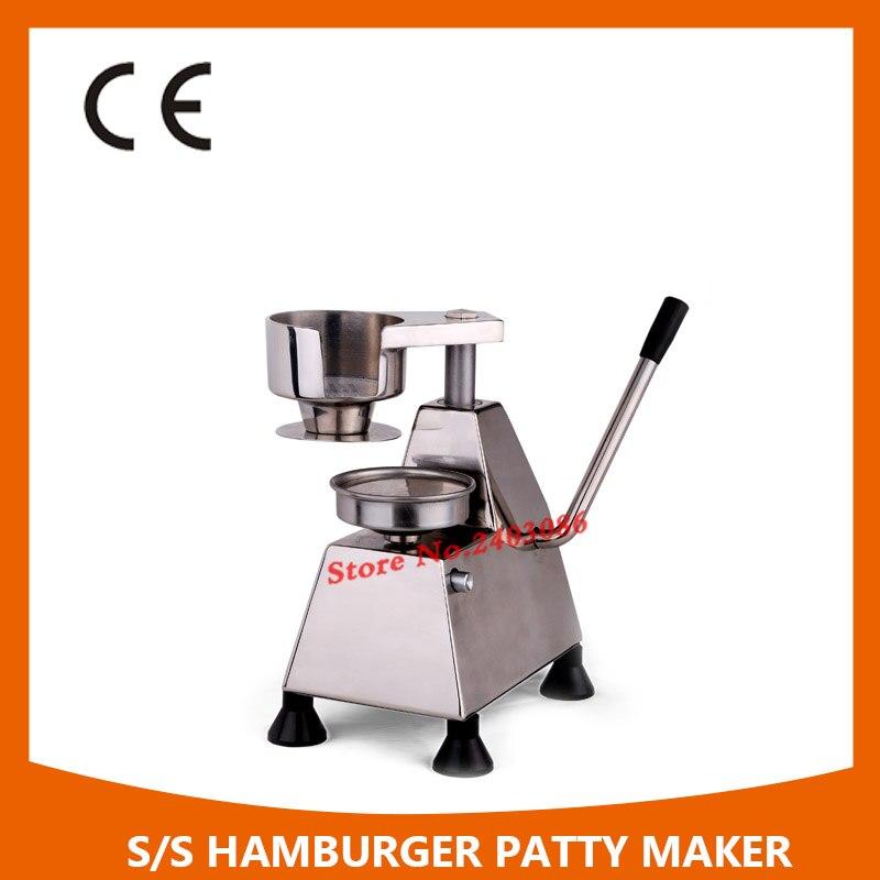 100mm Manual Hamburger Patty Forming Machine/hamburger-making Machines/hamburger Patty Maker 100mm manual hamburger machine hamburger press machine beef mold machine crab cake form machine