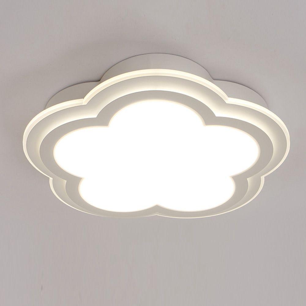 LED Plastic Cloud Kid's Bedroom Room Ceiling Lamp Cute