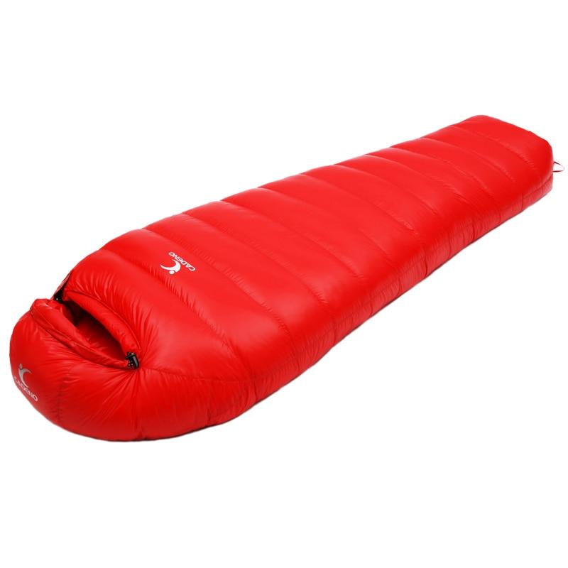 Adult Waterproof Sleeping Bag Ultralight Winter Camping Mummy Sleeping Bag Camping Supplies Down Sleeping Bags tourism 0