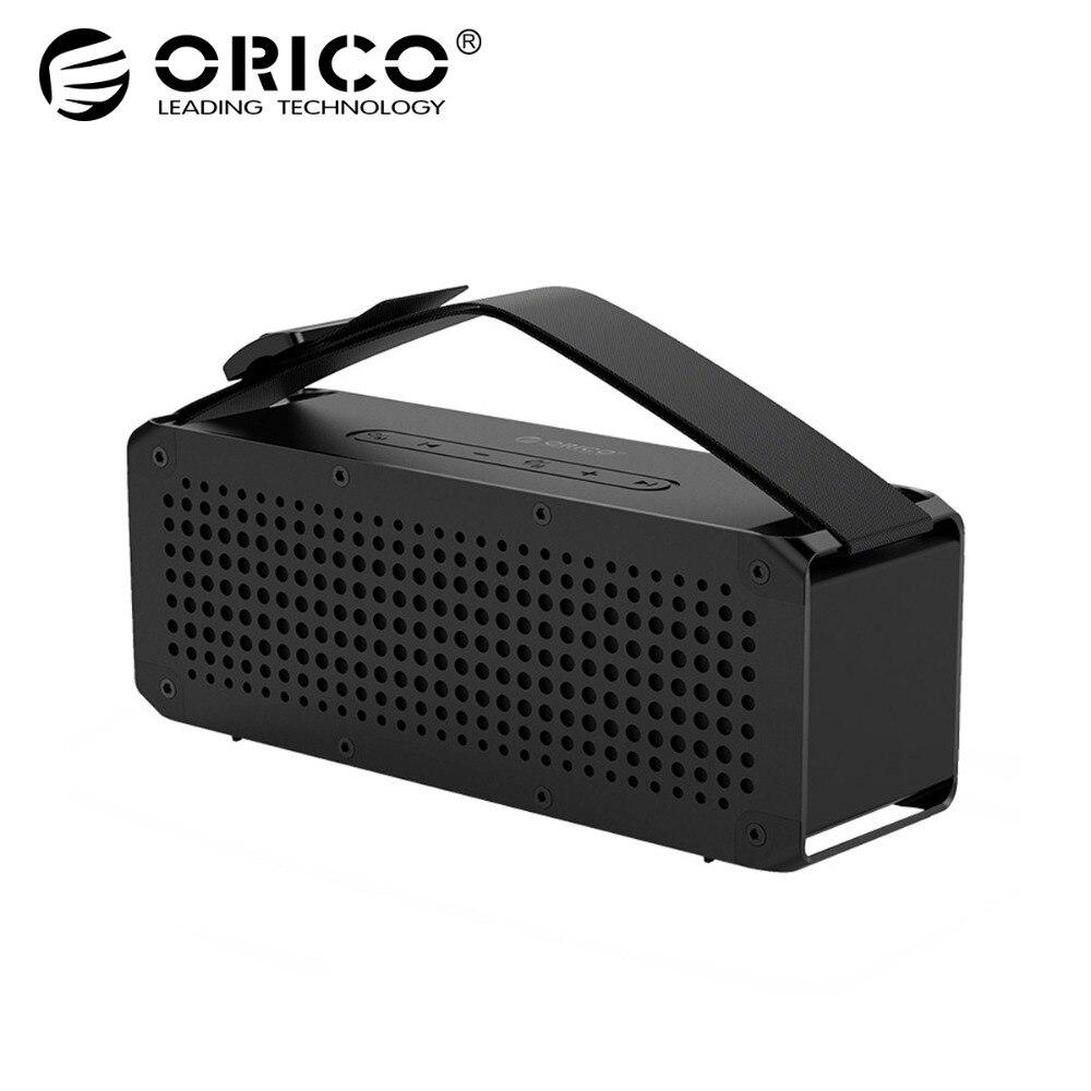 ORICO Портативный беспроводной 4,2 + EDR Bluetooth динамик три-коррекция наружной музыки объемная Поддержка TF карта для музыкального плеера