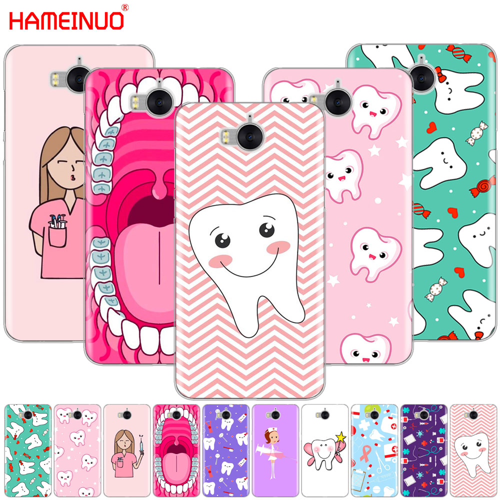 Half-wrapped Case Nurse Doctor Dentist Stethoscope Tooth Injections Phone Cover Case For Huawei Honor 3c 4x 4c 5c 5x 6 7 Y3 Y6 Y5 2 Ii Y560 2017 Cellphones & Telecommunications