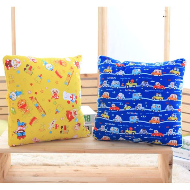 Anpanman Cartoon Bacteria Kid Pillow Air Conditioning Quilt Combo Cushions Lunch Break Birthday GiftsChristmas Gifts