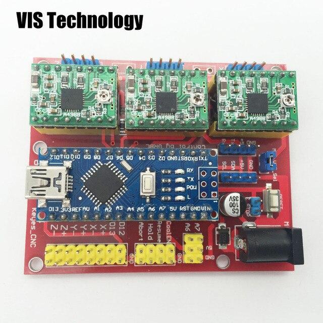 Wiring Arduino Cnc Shield On Wiring Extension Board - Wiring Diagram DB