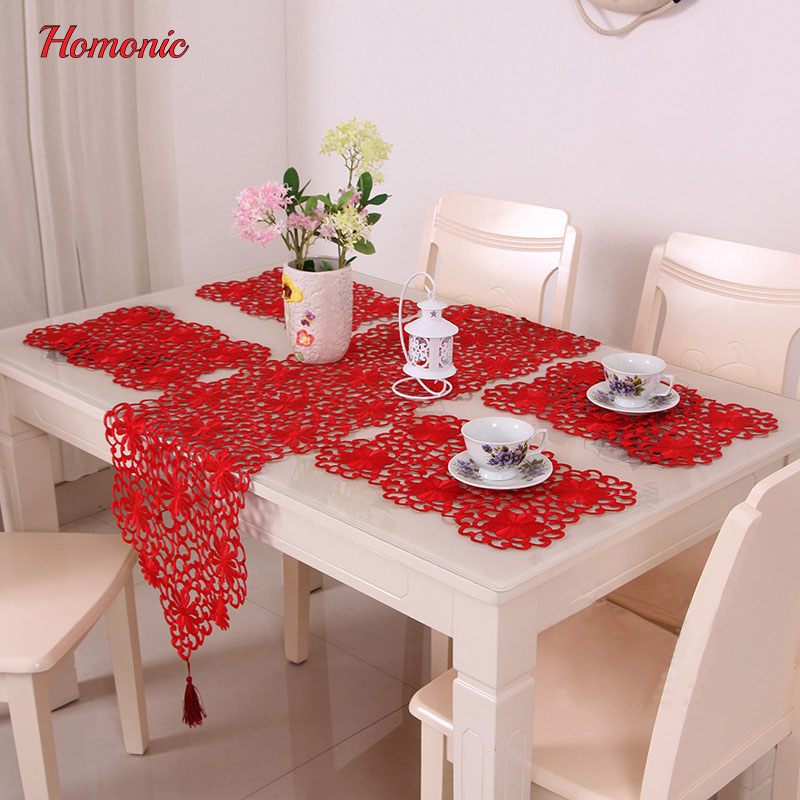Banquet Tablecloth Round Table Traditional Chinese Styles Red Wedding  Tablecloth Rectangular Luxury Table Linen Placemats Cupmat In Tablecloths  From Home ...
