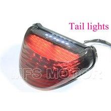 motorcycle parts Tail Brake Light Turn Signals For Kawasaki  Ninja ZX-12R ZX1200 2000 2001 2002 2003 2004 2005 Smoke