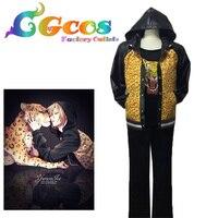 Freies Verschiffen Cosplay Kostüm YURI!!! auf EIS Plisetsky Yuri Spiel Cos Uniformkleid Neue Auf Lager Einzelhandel/Großhandel Halloween