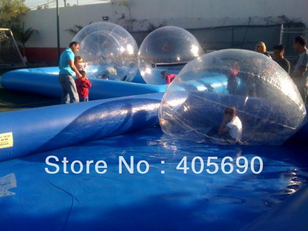 Prix concurrentiel 2.0 m Dia matériel, boule gonflable d'aqua de tirette de l'allemagne de Tizip