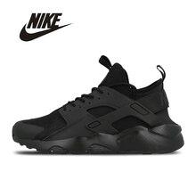 NIKE Original New Arrival Mens HUARACHE RUN ULTRA Running Shoes Breathable Footwear Super Light For Men
