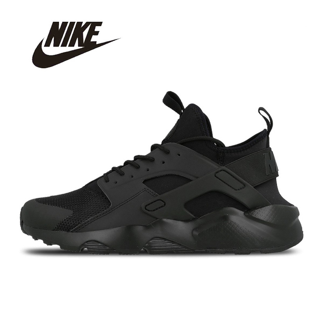 923c6f266b13 NIKE Original New Arrival Mens HUARACHE RUN ULTRA Running Shoes Breathable  Footwear Super Light For Men