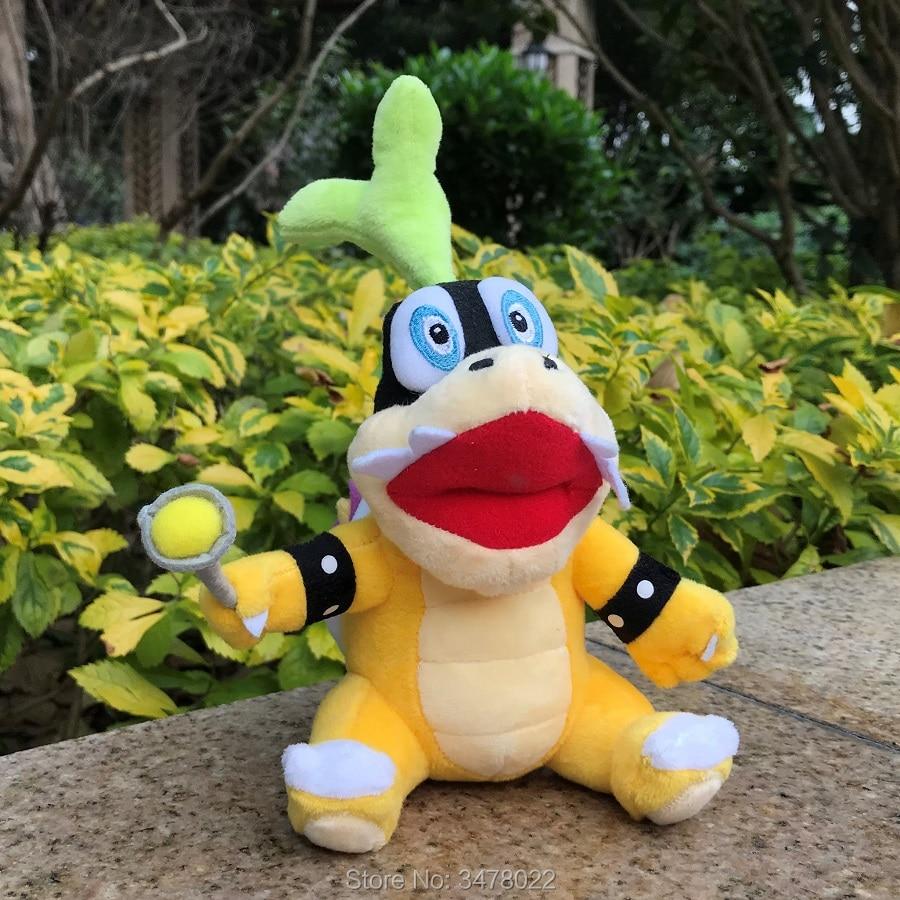 Super Mario Bros Plush Bowser Jr Baby Bowser Toy Stuffed Animal Doll Gift 7/'/'