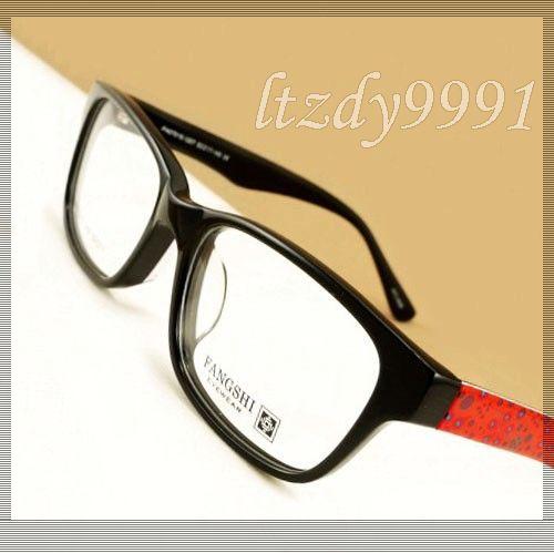 Black & Red/Rose Rosa Oval Plástico Acetato armação Completa Óptica da Prescrição QUADROS DE ÓCULOS Mulheres Óculos Espetáculo Eyewear FH07015