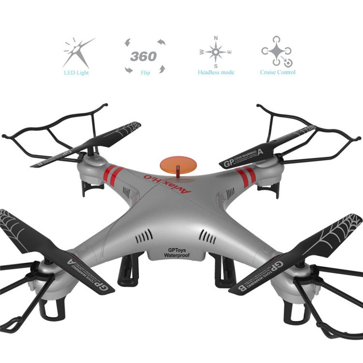 Wasserdicht Aviax Headless Tempomat drohnen 2,4G 4CH RC Quadcopter 360 Grad Umdrehung quadrocopter