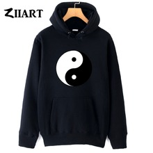 boys man male hoodies Yin and yang  Chinese philosophy autumn winter fleece couple clothes