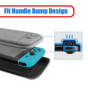 Image 2 - Fit Console Bump Design EVA Hard Shell Case For Nintend Switch Inner Bracket Function Carrying Bag for Switch NS Accessories