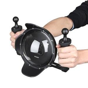 """Image 5 - Ateş 6 """"dalış sualtı kamera Lens Dome kapak w/balıkgözü geniş açı Lens Shell GoPro"""