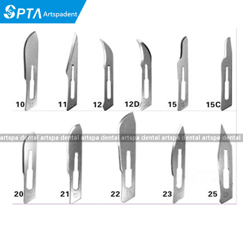 High Quality 100 Pcs Scalpel Blades For Dental medical Stainless Steel Surgical BladeHigh Quality 100 Pcs Scalpel Blades For Dental medical Stainless Steel Surgical Blade