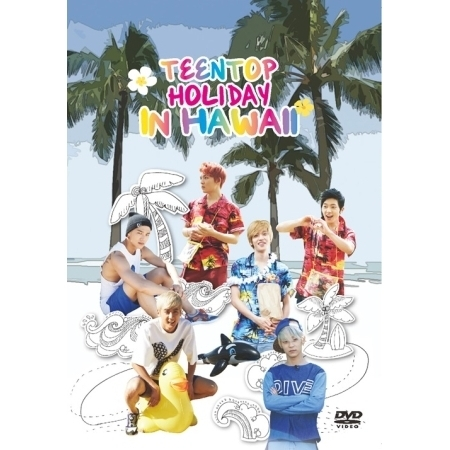 купить TEEN TOP - TEENTOP HOLIDAY IN HAWAII ( + Special Photobook (40 pages)) Release Date 2014-4-23 KPOP ALBUM недорого