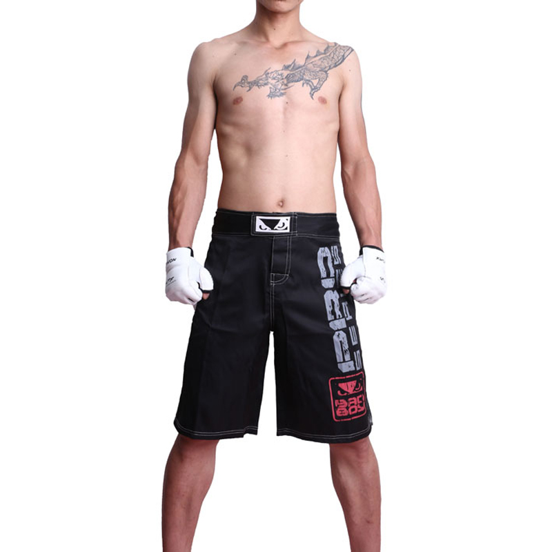 Boxing Fight Shorts MMA Grappling Muay Thai Trunks Cage Fighting Kickboxing