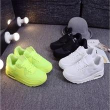 Купить с кэшбэком Explosion models mesh sports shoes women's Korean version of the thick bottom Joker men and women couples running shoes
