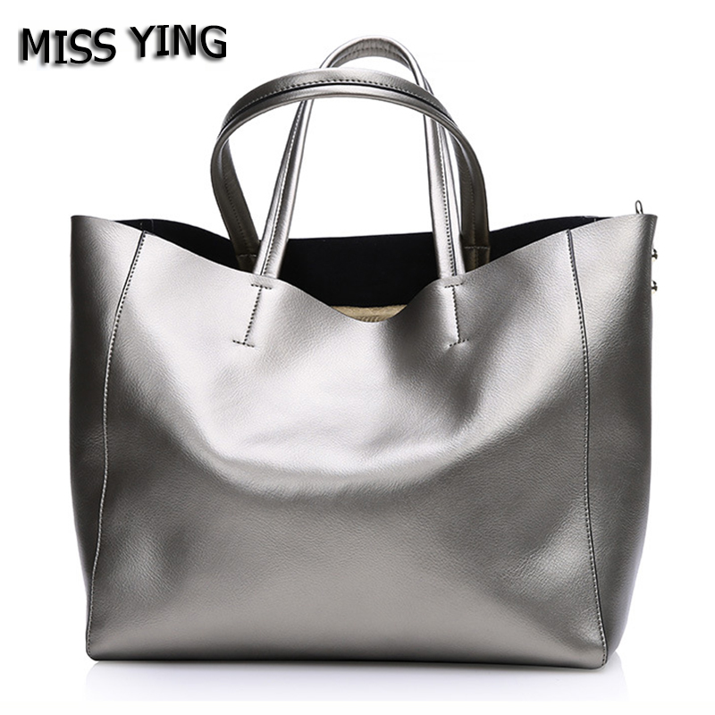 MISS YING Brand Women Genuine Leather Shoulder Bags Designer Handbags High Quality Female Large Cow Leather Traveling Tote Bags gtc06af 32 9p circular mil spec plug