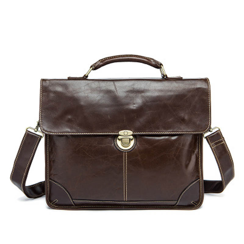 YISHEN Genuine Cowhide Leather Men Briefcase Handbags Fashion Business Male Shoulder Bags Crossbody Bags Casual Men Tote MLT7091 contact s men handbags shoulder bags genuine cowhide leather crossbody tote bag casual business high quality 2017 new brand hot
