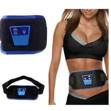 Electronic Massage Belt Slimming Body Muscle Relax Vibrator Massager Gymnic Back Pain Relief Arm Leg Waist Belly Fat Burning