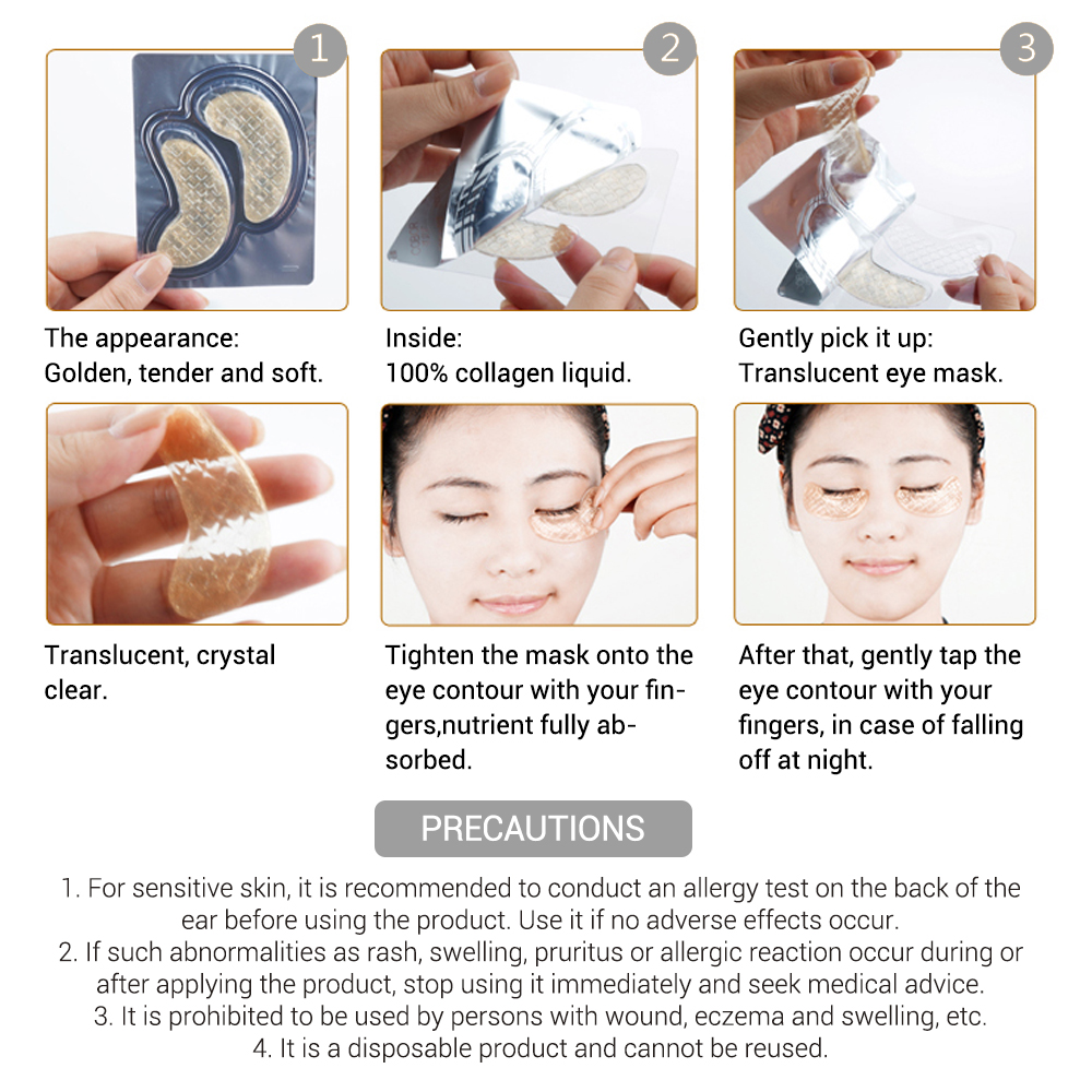 Promo Masker Mata Gold Termurah 2018 Hair Clipper Nova Nhc 5201 Sj0048 Crystal Collagen Eye Mask Original Best Seller Lanbena 10pcs 24k Gel Eyes Patches