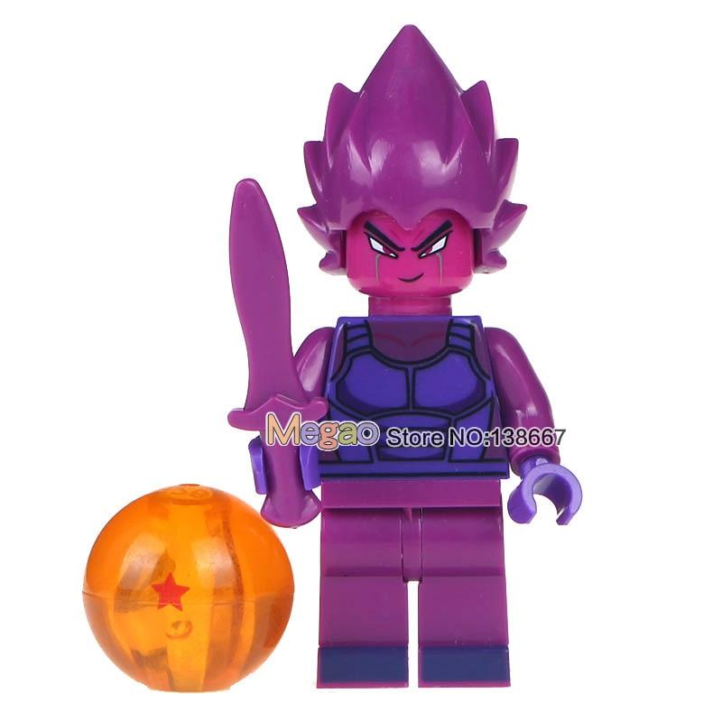 Single Sale Dragon Ball Z Figures Launch Vegeta Android Prefect Cell Tien Shin Han Goku Bulma Building Blocks Children Toys Gift