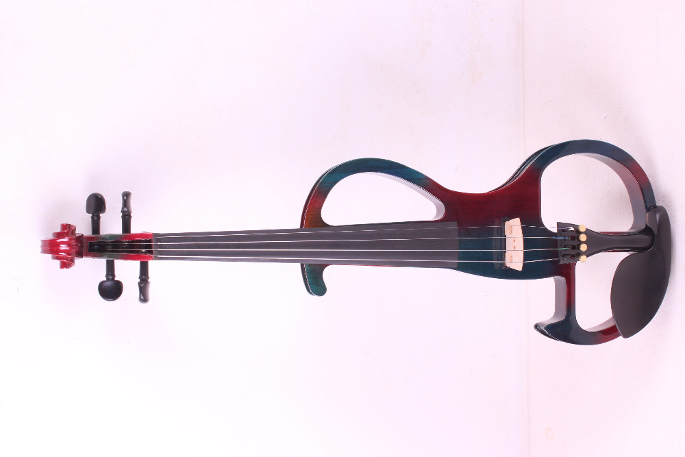 4 string 4/4 Electric Violin WHITE many  color  #2 the item is the color   if you need other color please tell me 4 string 4 4 electric violin silent pickup fine tone solid wood3 the item is the color if you need other color please tell me