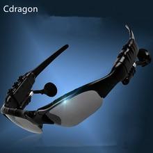 Cdragon Fone de Ouvido Sem Fio Fone De Ouvido Bluetooth Estéreo Música e Chamada de Telefone Mãos Livres óculos de Sol fone de Ouvido Mais Novo frete grátis
