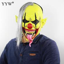 Halloween Horror Mask Latex Clown Cosplay Scary Masks Adult Party Masquerade Maske Mascaras Terror Masque Funny