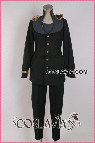Anime JoJo's Bizarre Adventure Josuke Higashikata Cosplay Costume black costume Outfit Any Size