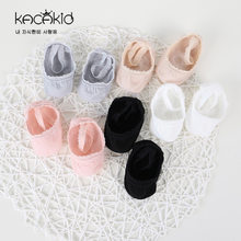Baby Girl Socks 2018 Promotion Summer Cotton Kids Lace Ankle Socks Princess Bow Shoes(China)