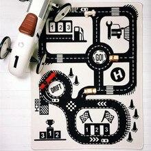 CSS детский игровой коврик, мягкие коврики для ползания, автомобильная дорожка, обучение по головоломкам, игрушка в скандинавском стиле, украшение детской комнаты, напольный ковер