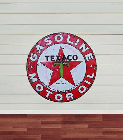8x12FT Indoor Licht Beige Houten Muur Texaco Benzine Motor Olie Logo Custom Foto Achtergronden Studio Achtergronden Vinyl 2.4x3.6 m