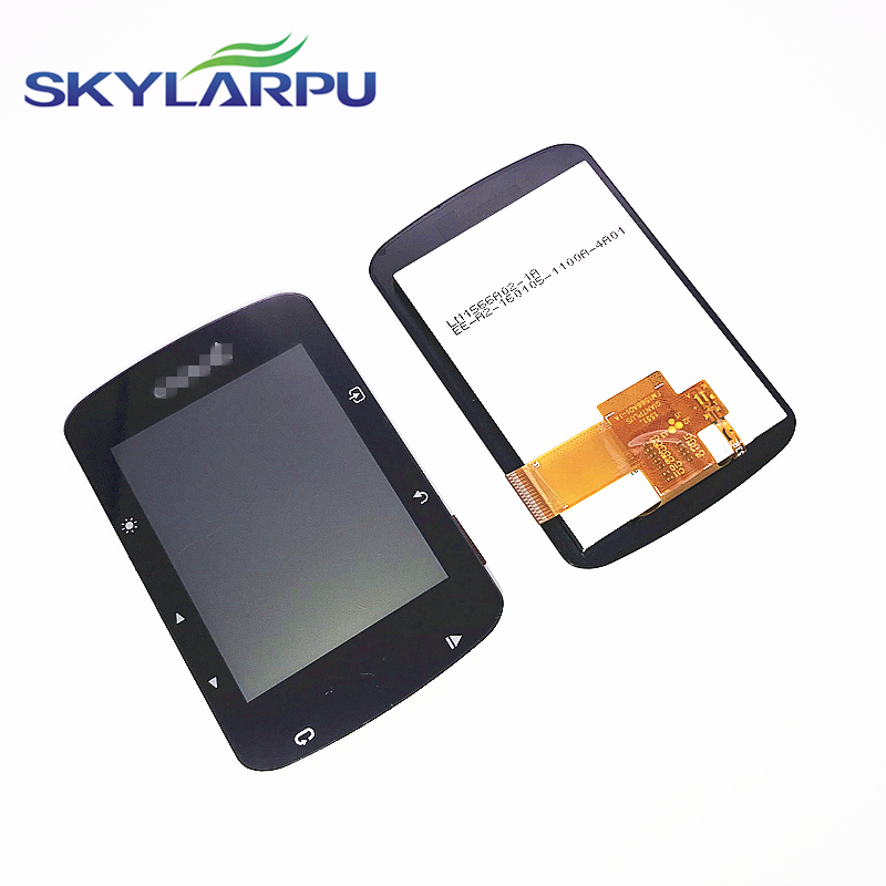Skylarpu (Slight Scratches) LCD Screen For GARMIN EDGE 520 520J 520 Plus Bicycle Speed Meter LCD Display Screen Panel