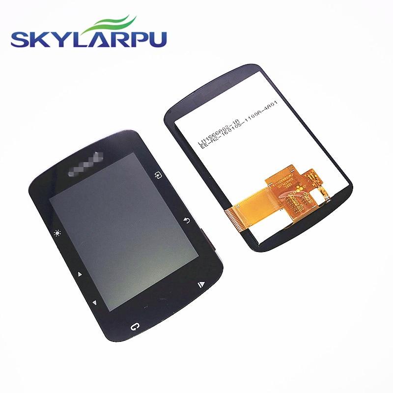 Skylarpu (Slight Scratches) LCD Screen For GARMIN EDGE 520 520J 520 Plus Bicycle Speed Meter LCD Display Screen Panel