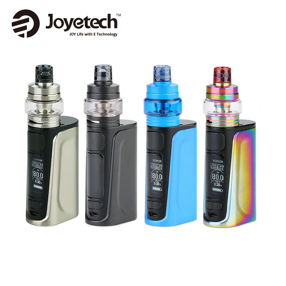 Original 80W Joyetech eVic Primo Fit Kit with 3ml Exceed Air Plus Atomizer & Built-in 2800mAh Battery E-cig eVic Primo Fit Kit цены онлайн